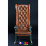 High Back Chair (Brown)
