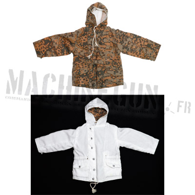 Winter smock reversible