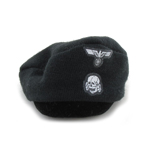 Elite Panzer Beret (Black)