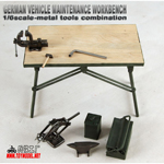 Maintenance Engine Set with metal accessories
