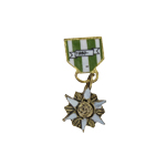 Diecast Republic of Vietnam Campaign Medal (Gold)
