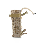 LBT 2649E ( London Bridge Trading Company ) Hydration Back Panel in AOR camouflage pattern with Source WXP Hydration Helix Hydration 3 Liter 100 oz Reservoir with hose and valve