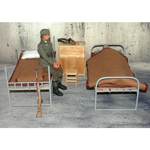 Double Deck Bed (Grey)