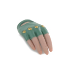Female Gloved Mittens Right Hand (Green)