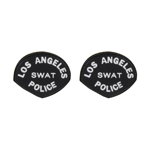 Los Angeles Police Patches (Black)