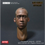 Headsculpt Air Force Officer