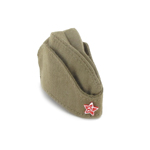 Russian Pilotka Hat (Coyote)