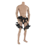 Tactical Harness with Removable Holsters (Black)