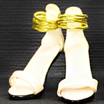 High Heels Female Catwalk Series Shoes (White)