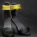 High Heels Female Catwalk Series Shoes (Black)