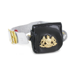 Life Guards Equipment Belt with Cartridge Box (Black)