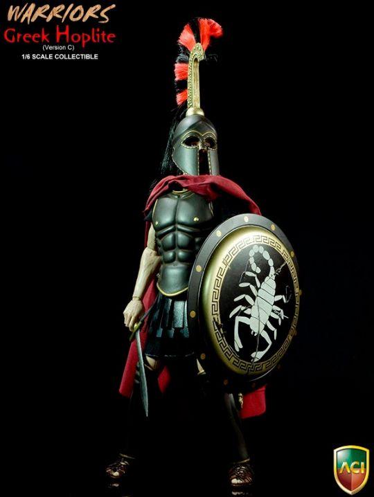 Warriors - Greek Hoplite (J Crest Version)