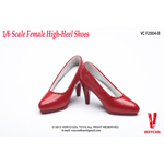 Fashionable High-Heel Shoes (Red)
