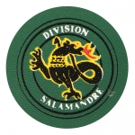 Salamandre Division Patch (Green)