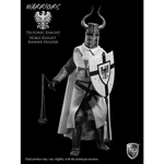 Teutonic Knight -  Noble Knight Banner Holder Figur