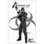 The Resident Evil (Leather Jacket Version) Figur