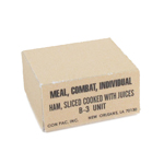 Individual Ration Boxes (Beige)