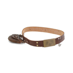 Belt with Pouch (Brown)