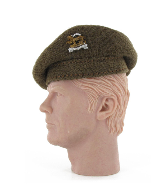 British service hat Leicestershire Regiment