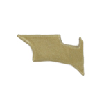 Diecast Left Batarang (Gold)