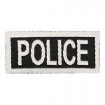 Police Patch (Black)