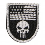 Punisher Patch Black)