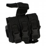 Flashbang Triple Drop Leg Pouch (Black)