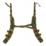 H-Harness War Belt Suspenders (Multicam)