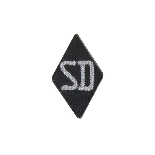 SD Sleeve Patch (Black)