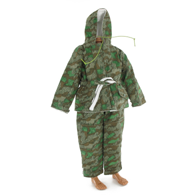 German reversible snow suit splinter