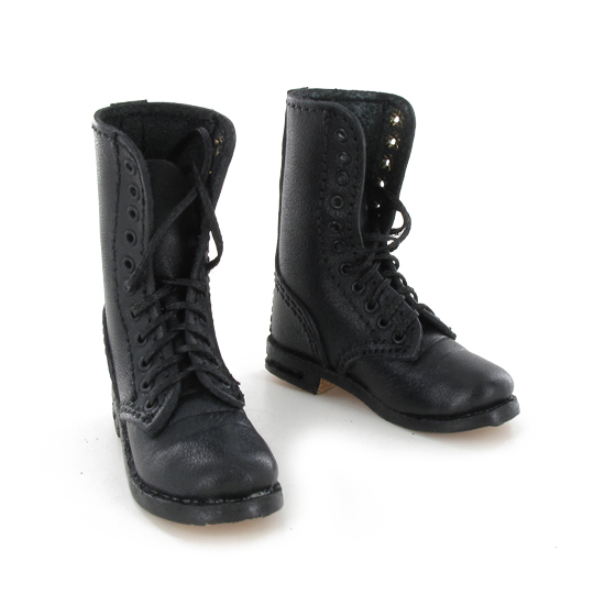 Fallshirmjager black jump boots (second model)