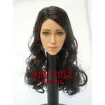 Asian woman headsculpt