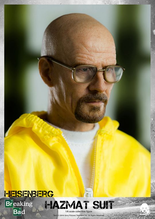 Breaking Bad - Heisenberg & Jesse Hazmat Suit Pack