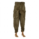 Worn M41 HBT Pants (Olive Drab)