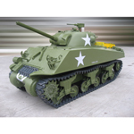 M4A3 Sherman tank electric propulsion 75mm Gun (without radio)