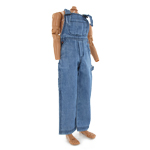 Denim Overalls (Blue)