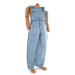 Denim Overalls (Light Blue)