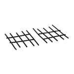 Diecast Fences (Black)