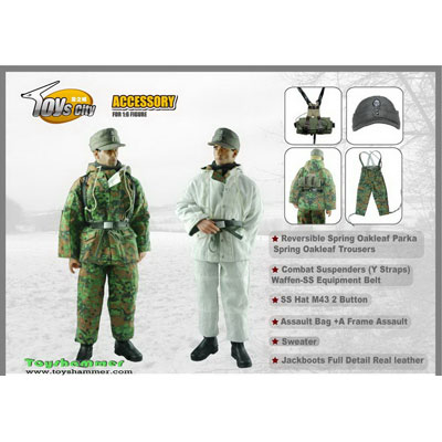 German Army Elite Units Parka Series Set 3