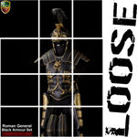 SET ROMAN GENERAL BLACK ARMOUR EXCLUSIVE VERSION (Aci)