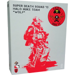 Zert Super Death Squad 3 - Halo Nuke Team Wolf Figur