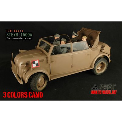 Styre 1500 Command Car (3 colors camo)