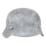 Diecast German Winter Helmet (White)