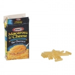 Macaroni and Cheese Box with Pasta (Yellow)