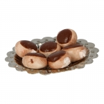 Caramel Donuts with Diecast Plate (Brown)