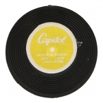 Capitol RPM Record Disk (Black)