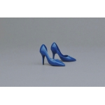 Female Heeled Shoes (Blue)