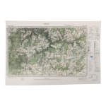 Laroche Topographic Map (Olive Drab)