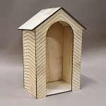 Wooden Gatehouse (Beige)