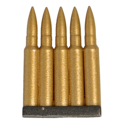 7,62mm 5 Cartridges Clip (Gold)